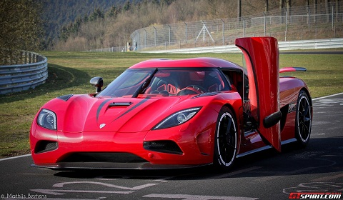 Koenigsegg Agera R at Nurburgring