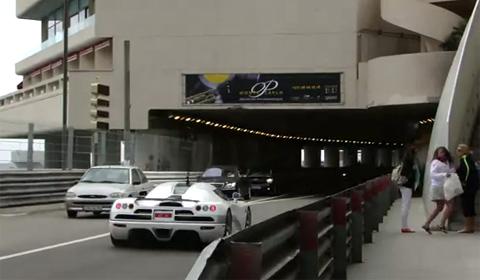 Koenigsegg CCX Scares Woman
