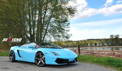 Lamborghini LP550-2 Balboni on Forgestar Wheels