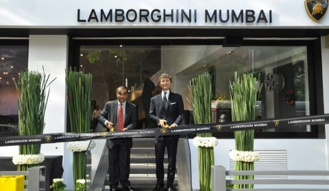 Lamborghini Opens Dealership in Mumbai India
