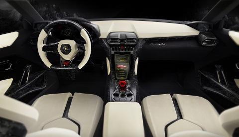 Lamborghini Urus Concept Interior