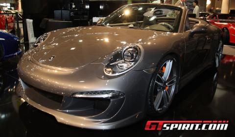 Monaco 2012 Gemballa GT Porsche 911 (991) Convertible Aerokit