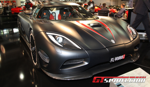 2012 Koenigsegg Agera on Koenigsegg Showed The Koenigsegg Agera At Top Marques   The Matte