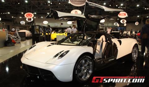 Monaco 2012 Pagani Huayra White Edition