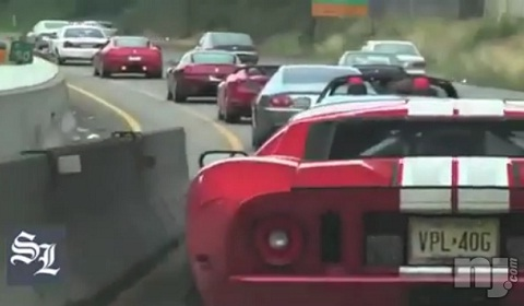 New Jersey Police Investigate High-Speed Supercar Escort