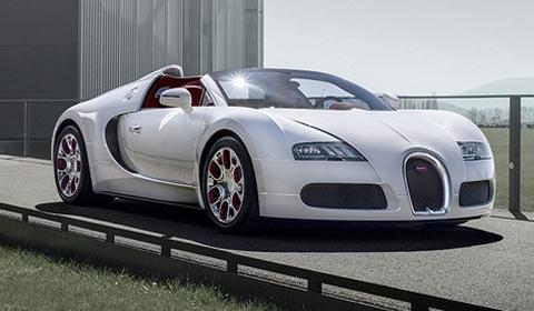 Official Bugatti Veyron Grand Sport Wei Long 2012