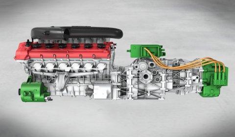 Official Ferrari V12 HY-KERS Powertrain
