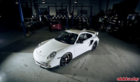 Porsche 997.2 Turbo S in the Snow