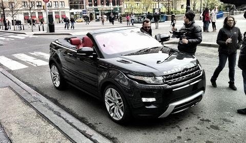 Range Rover Evoque Convertible in New York