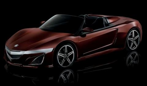 Tony Stark's Acura NSX Convertible Concept