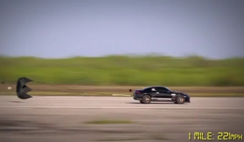 Video AMS Alpha Omega GT-R Top Speed Record 233mph