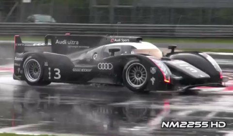 Video Audi R18 Ultra Tests at Monza Race Track