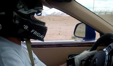 Video Driving Rolls-Royce Ghost at Trackday Willow Springs