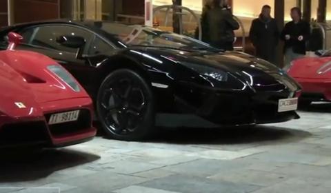 Video Fairmont Car Park During Top Marques Monaco 2012