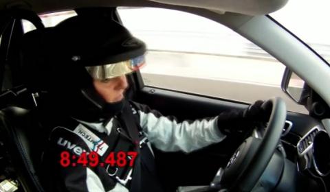 Video Jeep Grand Cherokee SRT8 Nurburgring Lap Time of 84900