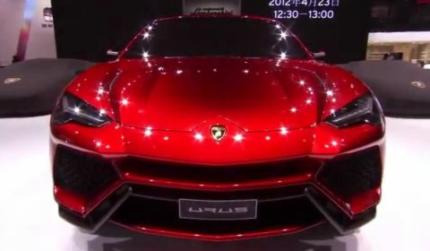 Video Lamborghini Urus Concept at Beijing Motor Show 2012