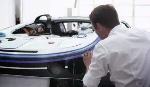 Video Making of the Bugatti Veyron Grand Sport L'Or Blanc