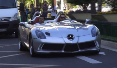 Video Mercedes-Benz SLR Stirling Moss in Monaco