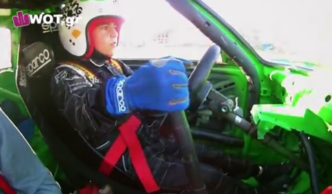 Video Of The Day 9.5-Year-Old Greek Drifter Showing His Skills