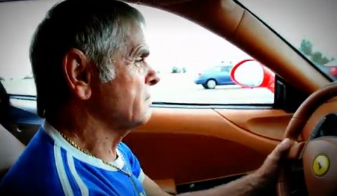 Video Son Surprises Dad with Ferrari