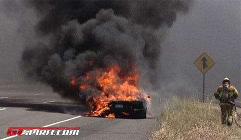 Lamborghini Aventador Fire 5
