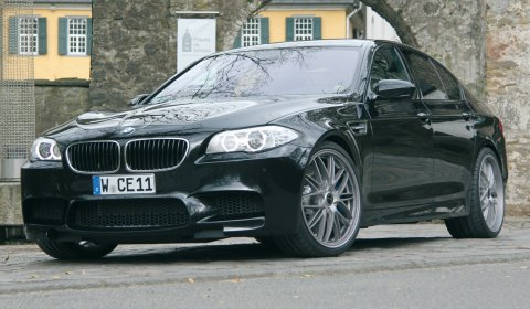 Official BMW F10M M5 by Manhart Racing