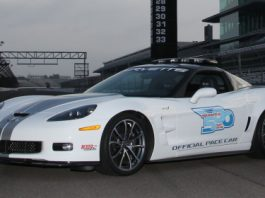 2013 Chevrolet Corvette ZR1 Pace Car at 96th Indy 500