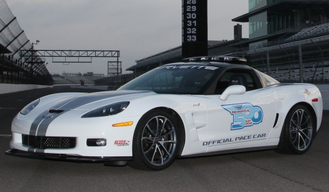 Corvette Stingray  on 2013 Chevrolet Corvette Zr1 Pace Car At 96th Indy 500   New Cars