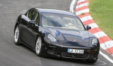 2013 Porsche Panamera testing on Nürburgring