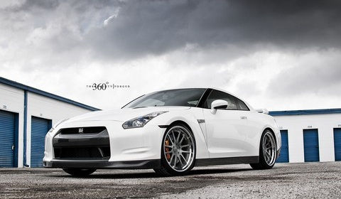 Nissan GT-R on 360 Forged Concave Spec 12 Wheels