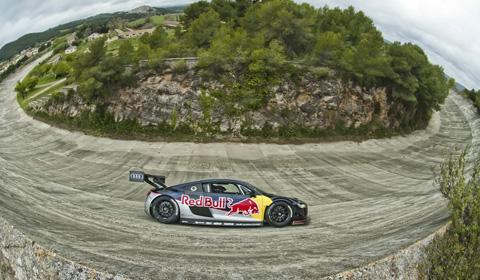 Audi R8 LMS hits the abandoned circuit of Terramar