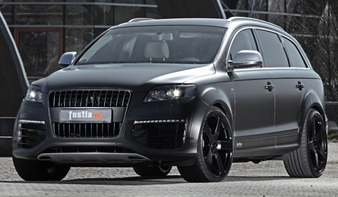 600hp Audi Q7 V12 TDI Foiled by Fostla