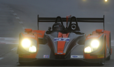 ALMS/Le Mans Driver David Heinemeier Hansson Long Beach In Rain