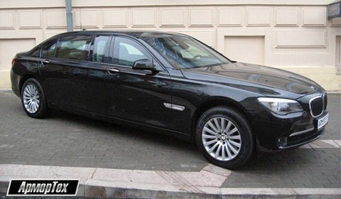 Armortech Builds Stretched BMW 760 XLi High Security