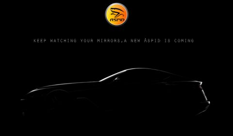 Aspid Reveals First Image of New Model