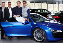 Car Crash Ski World Cup Winner Marcel Hirscher Crashes His Audi R8