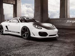 Custom Widebody Porsche Boxster Spyder with Forgestar Wheels