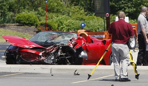 Ferrari F430 Wreck