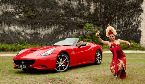 Ferrari Organised Three Day 2012 Bali Rally