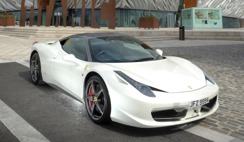 Ferrari Owners' Clubs Gather in Belfast for Titanic Tour