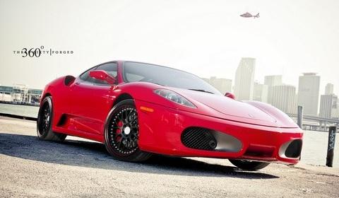 Ferrari F430 on 360 Forged Wheels
