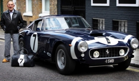 Ferrari's Breadvan and Stirling Moss's SWB Displayed at Ferrari Museum 02