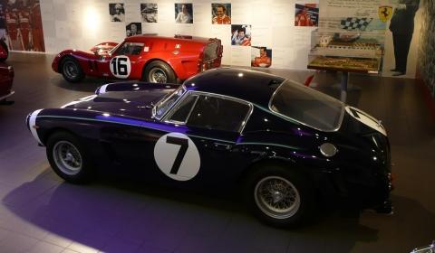 Ferrari's Breadvan and Stirling Moss's SWB Displayed at Ferrari Museum