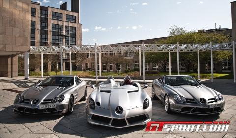 History of the Mercedes-Benz SLR McLaren