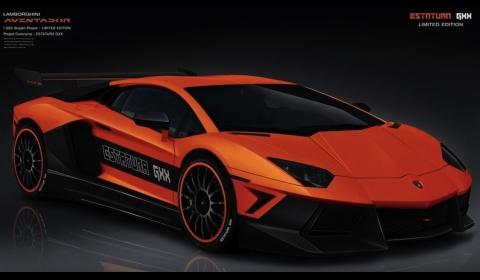 Lamborghini Aventador Estatura GXX by GSC