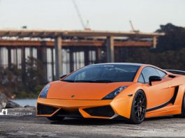 Lamborghini Gallardo Superleggera on ADV.1 Wheels