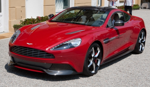 Leaked 2013 Aston Martin DBS aka Project 310