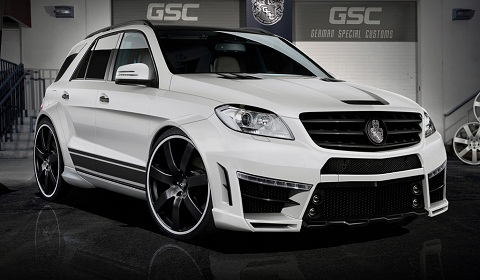 Mercedes-Benz ML Typhoon by GSC