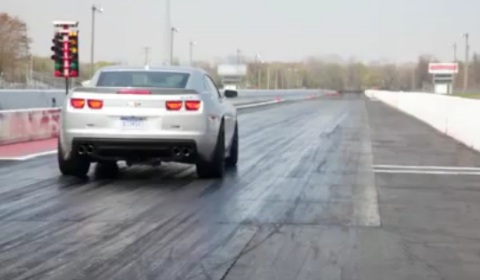 Official 2012 Chevrolet Camaro ZL1 Enters 11 Second Club