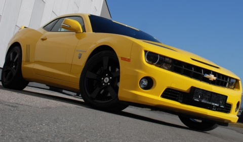 Official Chevrolet Camaro Transformers Edition by O.CT Tuning